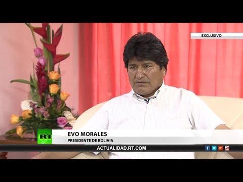 Entrevista en exclusiva con Evo Morales, presidente de Bolivia