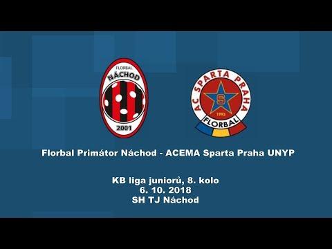 junioři KB liga, Náchod - Sparta Praha