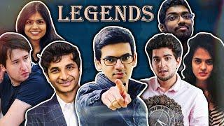Legends Highlights Live - AG ft. Raja, VD, Tania, Samay, Soumya, AD