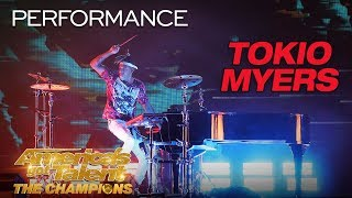 """Tokio Myers: Cool Musician Performs """"Bloodstream"""" - America's Got Talent: The Champions"""