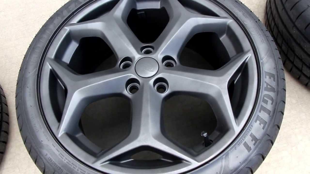 Ford Focus Rims >> PLASTI-DIP : How to Plasti-dip Rims - YouTube