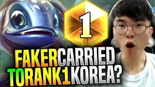 Faker Got Carried to Rank 1? Insane Comeback! - SKT T1 Faker Picks Fizz Mid! | SKT T1 Replays