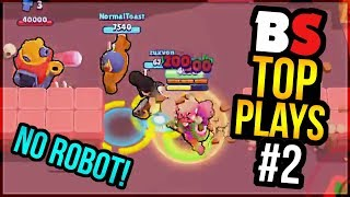 Best Plays & Moments in Brawl Stars History | BS Top Play Review #2