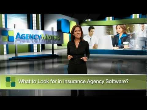 What to look for in Insurance Agency Software