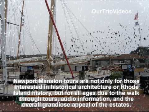 Pictures of Newport seaside city, RI, US
