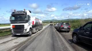 Дорогу на Суражевку отремонтируют к 14 июня