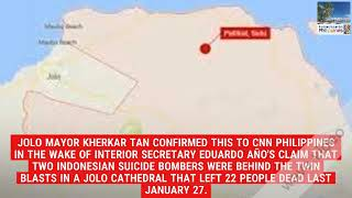 Jolo mayor believes at least 7 foreign terrorists still in Sulu