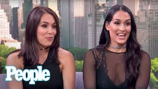 WWE Stars Nikki & Brie Bella On John Cena, Baby Birdie, Nikki's Wedding & More | People NOW | People