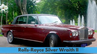Rolls-Royce Silver Wraith II, Princess Margret's personal Rolls-Royce.
