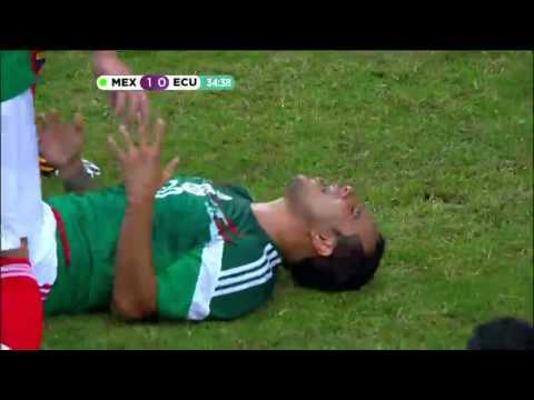 Mexico vs Ecuador 3-1 Amistoso 31/05/2014 Goles TV Azteca