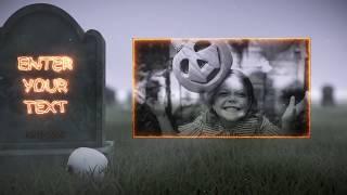 Halloween Gravestones Template to Make Creepy Halloween Videos
