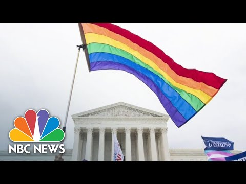Supreme Court Rules Existing Law Forbids Discrimination Based On Sexual Orientation | NBC News