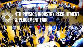We hosted the UK's biggest physics careers fair