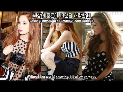 Girls' Generation-TTS (Taetiseo) - EYES + [English Subs/Romanization/Hangul]
