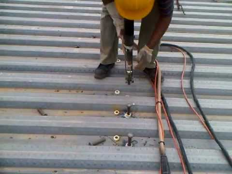 Stud Welding Through Deck At Nirmal Lifestyle Commercial