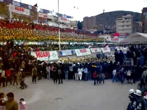 Festival de Bandas Oruro 2011 (Bolivia) Diablada Urus & Viva Mi San José