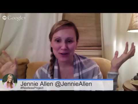 Live Author Chat with Jennie Allen | FaithGateway