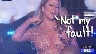 Mariah Carey Says Dick Clark Productions 'Set Her up to Fail' ~DCP SLAM Mariah Carey for LYING