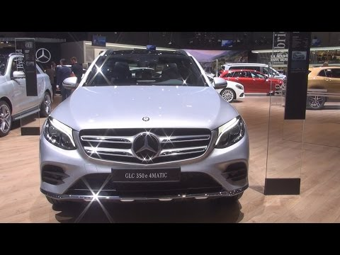Mercedes-Benz GLC 350 e 4MATIC SUV (2017) Exterior and Interior in 3D