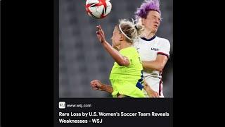 Megan Rapinoe Disrespects USA Then Loses Big (comedian K-von shrugs)