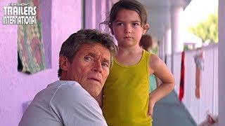 Projeto Flórida Trailer: um elogiado drama com Willem Dafoe e Brooklyn Prince