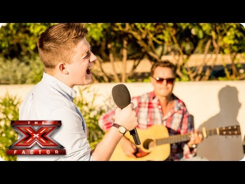 Nicholas McDonald sings If You're Not The One - Judges Houses -- The X Factor 2013