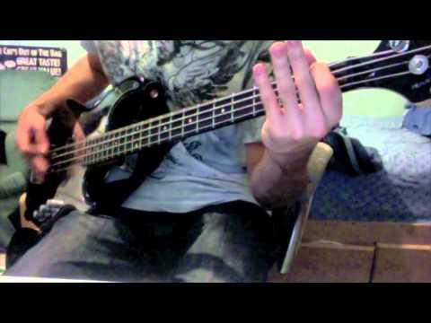Megadeth- Symphony of Destruction bass cover