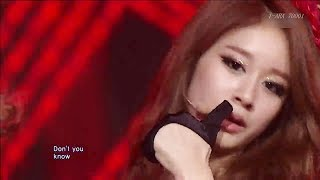 T - ARA Sexy Love  (Japanese Ver) Live compilation 日本語歌詞