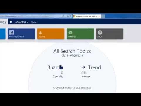 How To Set A Search Topic in Microsoft Social Listening
