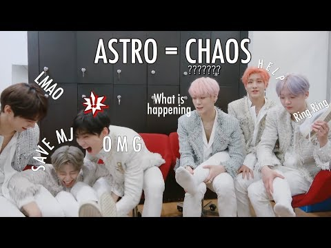 Astro Try Not To React to Astro Reacting to All Night MV