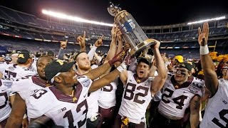 Highlights: Gophers Win 2016 Holiday Bowl 17-12 Over Washington State
