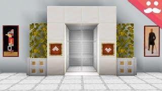 Realistic Piston Elevators with Honey Blocks