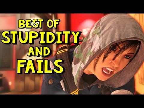 Best of Stupidity and Fails | Rainbow Six Siege