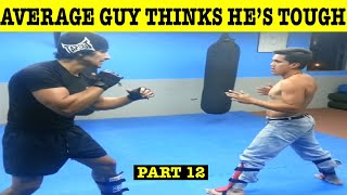 Top 10 Dumbest Regular Guys Challenging Pro Fighters & Getting Crushed