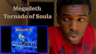 FIRST TIME LISTENING TO   Megadeth - Tornado of Souls   REACTION