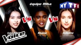 Lou-Mai VS Imane VS Juliette | The Voice France 2017 | Epreuve Ultime