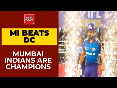 Mumbai Indians thrash Delhi Capitals by 5 wickets; win their 5th IPL title