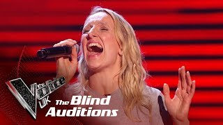 Sarah Tucker's 'In My Blood'   Blind Auditions   The Voice UK 2019