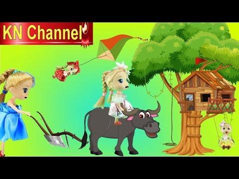 BÚP BÊ KN Channel CHỌC GHẸO TRÂU ĐIÊN VÀ CÁI KẾT...| NGHỈ HÈ VỀ QUÊ NGOẠI
