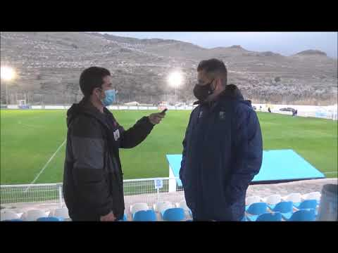 MOISÉS GUTIÉRREZ (Entrenador Borja) CD Brea 0-1 SD Borja / J 18 / 3ª División