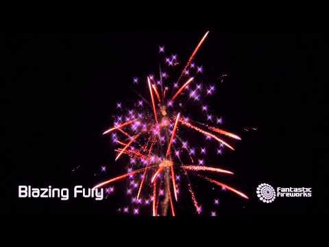 Fantastic Fireworks Blazing Fury - 43 shot Barrage Firework
