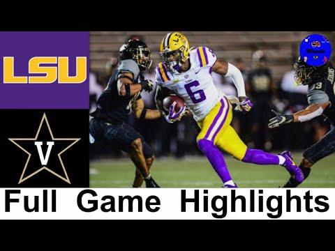 #20 LSU vs Vanderbilt Highlights | College Football Week 5 | 2020 College Football Highlights