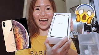 THE NEW IPHONE XS MAX UNBOXING (PHILIPPINES)