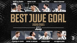 BEST JUVE GOAL 2020/21 | The Juventus Goal of the Season as voted by you! | Powered By Jeep