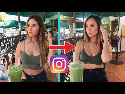 RECREATING CATHERINE PAIZ'S INSTAGRAM!!