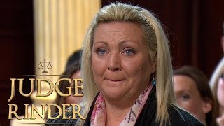Woman Admits Taking Money Out of Her Son's Trust Account | Judge Rinder