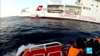 كارثة انسانية كادت أن تقع بالقرب من السواحل الايطالية