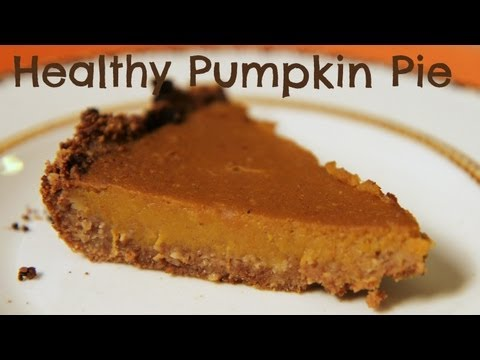 Healthy Pumpkin Pie | Sarah Fit