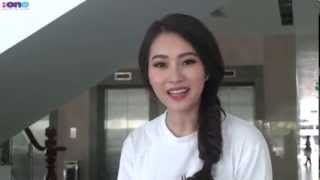 Hoa hậu Đặng Thu Thảo - Phỏng vấn nhanh -  iOne
