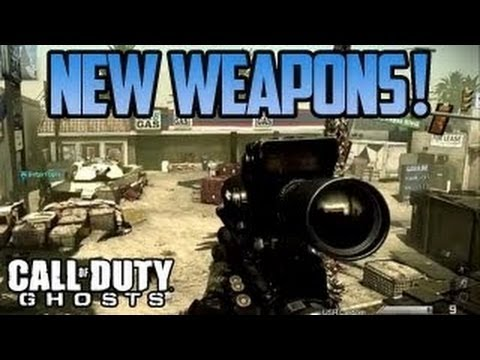 Call Of Duty: Ghosts Weapons Multiplayer Gameplay - COD Ghosts *NEW* Guns List - ALL Weapons - Smashpipe Games